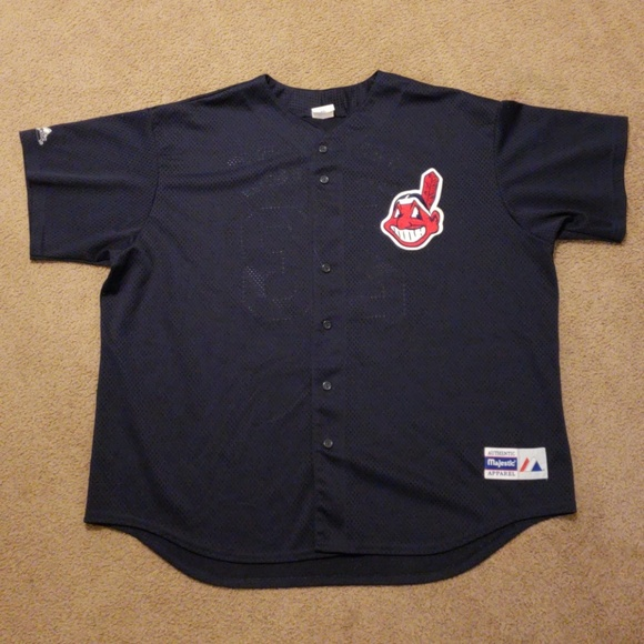 Majestic Other - Vintage Cleveland Indians MLB David Justice Jersey f26262be8